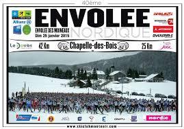 ski club mont noir en piste pour la 40eme envolée nordique ski nordique net