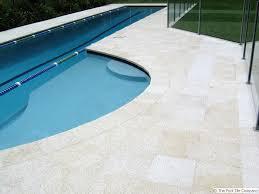 almond granite pool tiles and pavers