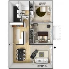 2 Bedroom 1 Bath 2 Bedroom 1 Bath Apartment Floor Plans Creative