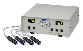 multi pole led uv curing system
