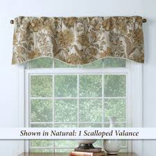 Jacobean Floral Country Curtains by Window Valances Touch Of Class