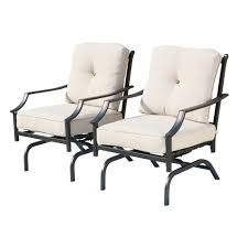Patio Festival Metal Outdoor Rocking Chair With Beige Cushions (2-Pack) The Gripper 2piece Delightfill Rocking Chair Cushion Set Patio Festival Metal Outdoor With Beige Cushions 2pack Fniture Add Comfort And Style To Your Favorite Nuna Wood W Of 2 By Christopher Knight Home Details About Klear Vu Easy Care Piece Maracay Head Java Wicker Enstver Bistro 2piece Seating With Thickened Blue And Brown Amish Bentwood Rocking Chair Augustinathetfordco Splendid Comfortable Chairs Nursing Wooden Luxury Review Phi Villa 3piece