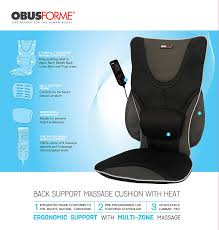 Amazon Massage Chair Pad by Amazon Com Massaging Drivers Seat With Heat Health U0026 Personal Care