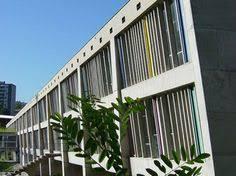 le corbusier s maison de la culture features asymmetric roof le
