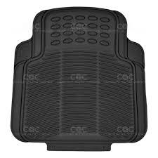100 Truck Floor Mat Black 2pc Rubber Utility S For Car SUV Heavy Duty