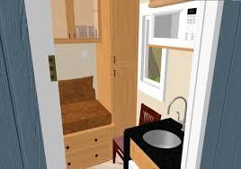 Inside Kevins 8x8 Tiny House Design