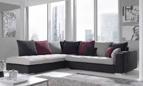 canape d angle gris anthracite canapé d angle droit ou gauche capitonné coloris brun beige et