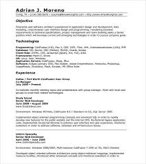Year Experienced Software Engineer In Java Best Excellent Resume Sample Format