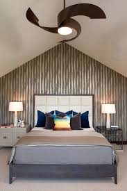 Shabby Chic White Ceiling Fans by Bedrooms Shabby Chic Modern Bedroom With White Bed And Floral