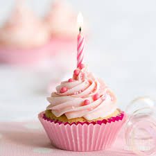8 birthday cupcake ruth black