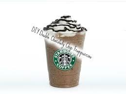 DIY Starbucks Double Chocolate Chip Frappuccino
