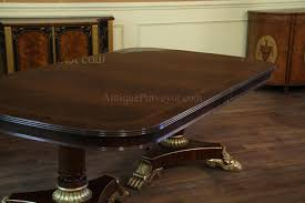 American Of Martinsville Dining Room Table by Extra Large And Wide Mahogany Dining Room Table