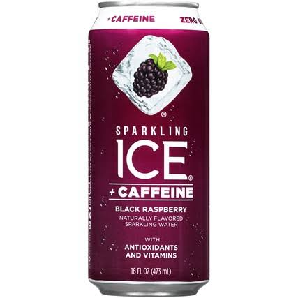 Sparkling Ice Sparkling Water, Black Raspberry - 16 fl oz