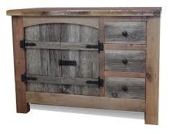 Rustic Bathroom Vanities — Barn Wood Furniture Rustic Barnwood