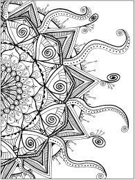 Zendala Coloring Book By Lynne Medsker Dover Publications