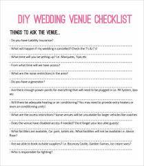 Printable DIY Wedding Checklist Bespoke Bride