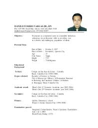 Example Resume For Filipino Teachers Plus Useful Sample Board Passer Also Best Ideas Of