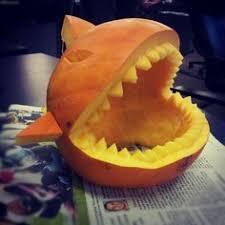 Bruce The Shark Pumpkin Stencil by 2shea Creative Pumpkin Carving Templates Jaws Shark Pumpkin