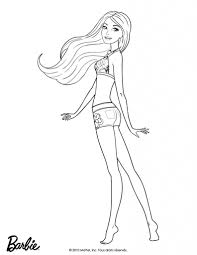 Pictures Barbie Coloring Pages Print 73 About Remodel Online With