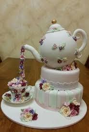High Tea Cake Via The Fairy Mother