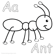 Ant Man Colouring Pages Ants Coloring 4