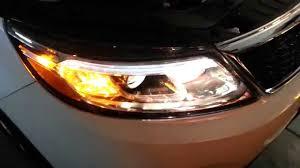 2014 kia sorento testing headlights after changing bulbs low