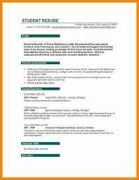 Cv Profile Example Studentresume Objective Examples For Students Sample Resume Objectives College