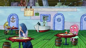 In The Krusty Krab | Oleh Annisa In 2019 | Spongebob House ...