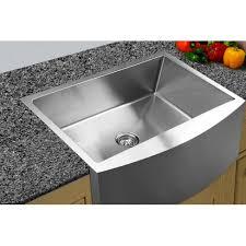 33x22 Stainless Steel Sink by Undermount A Front Kitchen Sink