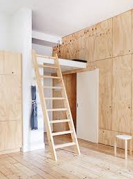 Home Design: Apartment Ladder Interior Design - Small Apartment ... Awesome Ladder Ideas In Home Design Contemporary Interior Compact Staircase Designs Staircases For Tight Es Of Stairs Inside House Best Small On Simple Fniture Using Straight Wooden And Neat Pating Fold Down Attic Halfway Open Comfy Space Library Bookshelf Images Amazing Step Shelves Curihouseorg Spectacular White Metal Spiral With Foot Modern Pictures Solutions