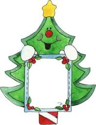 Christmas Clipart Frames Gift Tags Graphics Printables Border Wishes Xmas Cards