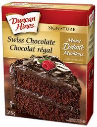 Product Swiss Chocolate Cake Mix