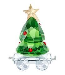 Swarovski Crystal 2018 Christmas Tree Wagon
