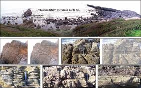 Trough Cross Bedding by Cala Bona Section Overview Top With Close Ups Showing Tidal