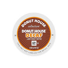 Decaf Pumpkin Spice Latte K Cups by Keurig K Cup Pack 18 Count Donut House Collection Decaf Coffee