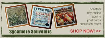 Sycamore Pumpkin Fest Flag by Sweet Earth Gifts Jewelry Engraving Beads Sycamore Illinois
