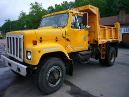 1981 International 2554 Single Axle Dump Truck For Sale By Arthur ...