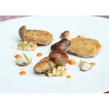 plat rapide a cuisiner emincé de veau pané fricassée de cèpes parfumée à l estragon ketch