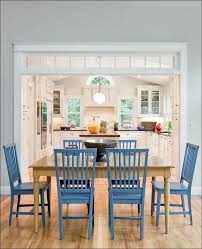 kitchen white chair colorful dining chairs glass dining table