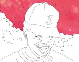 Chance The Rappers Coloring Book Lyrics Are Now In A Real And Free