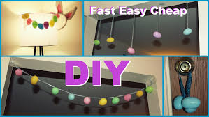 easy and cheap decorations diy easter decorations easy fast cheap