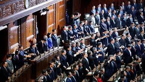 chambre du parlement législatives au japon la chambre basse du parlement officiellement