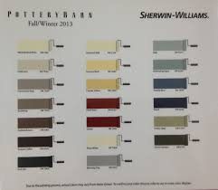 Sherwin Williams - Pottery Barn | Paint Colors | Fall/Winter 2013 ... 49 Best Pottery Barn Paint Collection Images On Pinterest Colors Best 25 Barn Colors Ideas Favorite Colors2014 It Monday Sherwin Williams Jay Dee Vee Popular Custom Color Pallette To Turn A Warm Home In Cool