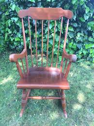 Vintage Wooden Rocking Chair In KT17 Epsom And Ewell For £25.00 For ... Sold Antique Mission Style Rocking Chair Refinished Maple And Leather Adams Northwest Estate Sales Auctions Lot 12 Vintage Wood Mini Rocker 3 Vintage Wood Carved Rocking Chairs Incl 1 Duck Design Seat Tell City Company Love Seat Projects In Childs Wooden Refurbished Autentico Bright White Victorian W Upholstered Back Wooden Chair Ldon For 4000 Sale Shpock With Patchwork Design On Backrest Batley West Yorkshire Gumtree Child Doll Red Checked Fabric