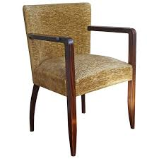 Stunning 1930s Hand Crafted Solid Macassar Ebony Art Deco Armchair