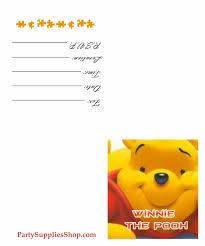 Winnie The Pooh Baby Shower by Photo Blank Winnie The Pooh Baby Shower Invitations Where To Buy