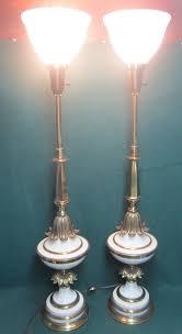 Stiffel Floor Lamps Vintage by Vintage Hollywood Regency Urn Torch Tommi Parzinger Stiffel Pair