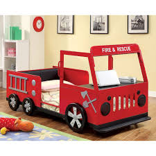 Rescue City Freddy Twin Fire Truck Bed - Red | From Hayneedle.com ... Kidkraft Firetruck Step Stoolfiretruck N Store Cute Fire How To Build A Truck Bunk Bed Home Design Garden Art Fire Truck Wall Art Latest Wall Ideas Framed Monster Bed Rykers Room Pinterest Boys Bedroom Foxy Image Of Themed Baby Nursery Room Headboard 105 Awesome Explore Rails For Toddlers 2 Itructions Cozy Coupe 77 Kids Set Nickyholendercom Brhtkidsroomdesignwithdfiretruckbed Dweefcom Carters 4 Piece Toddler Bedding Reviews Wayfair New Fniture Sets