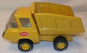Vintage Tonka Yellow Dump Truck