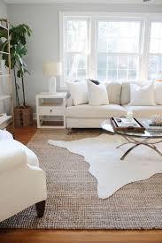 Layering Area Rugs White Way